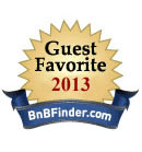 BnB Finder Guest Favorite 2013